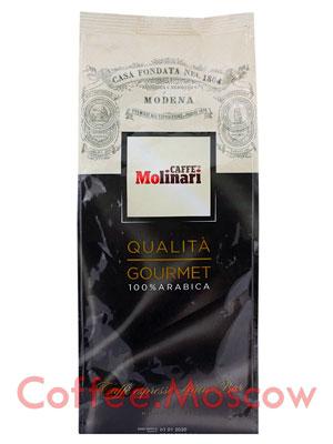 Кофе Molinari в зернах Gourmet 1 кг