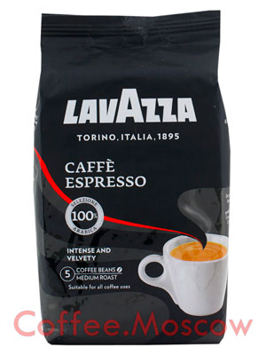 Кофе Lavazza в зернах Espresso 1 кг в.у.