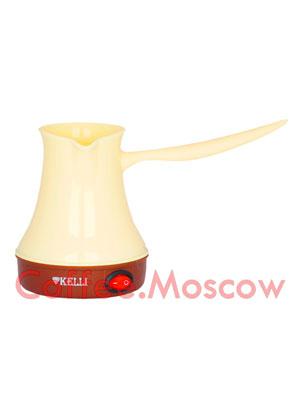 Турка электрическая Kelli KL-1444 (кремовая)