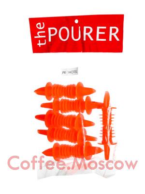Гейзер Пластик D-5, H-75, B-200 мм уп-12шт (Оранжевый, короткий носик)