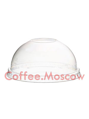 Крышка для креманки D 93 мм Купольная без отверстия