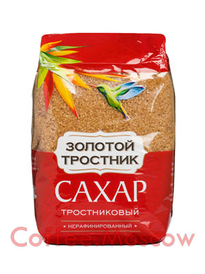 Сахар Золотой тростник 900 гр