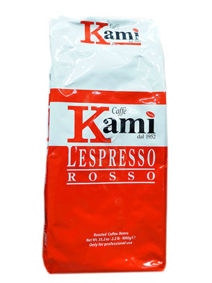 Кофе Kami в зернах Rosso 1кг