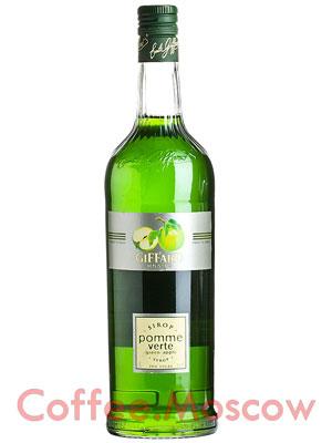 Сироп Giffard Зеленое яблоко