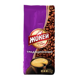 Кофе Жокей в зернах Традиционный 400 гр
