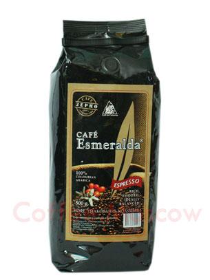 Кофе Cafe Esmeralda Эспрессо в зернах 500гр