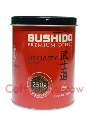 Кофе Bushido в зернах Specialty 250 гр