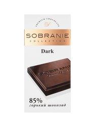 Шоколад Sobranie Горький 85 % 90 гр