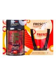 Кофе Fresco Platti растворимый с кружкой, подарочный набор, 95 г