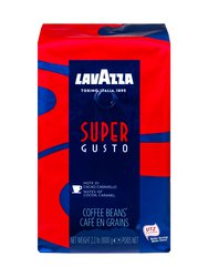 Кофе Lavazza в зернах Super Gusto 1 кг в.у.