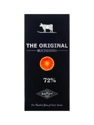 Шоколад Buсheron The Original Горький с апельсином 100 гр