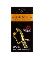 Sobranie Горький шоколад 85%. (Сабля) 90 г