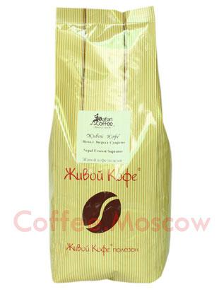 Живой кофе в зернах Непал Эверест Супремо 1 кг