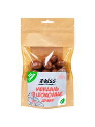 X-Kiss Миндаль в молочном шоколаде без сахара 100 г