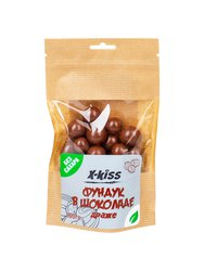 X-Kiss Фундук в молочном шоколаде без сахара 100 г