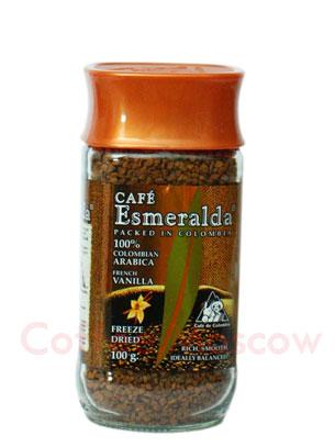 Кофе Cafe Esmeralda растворимый Французская Ваниль 100гр
