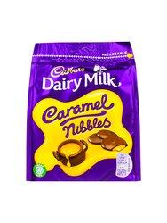 Конфеты шоколадные Cadbury Caramel Nibbles Bag 120 г